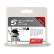 5 Star Office Canon PG-40 Compatible Inkjet Cartridge - Black